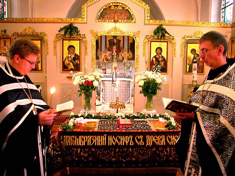 Изображение: в храме Покрова Пресвятой Богородицы, 2 апреля.  Фото Велопаломника
