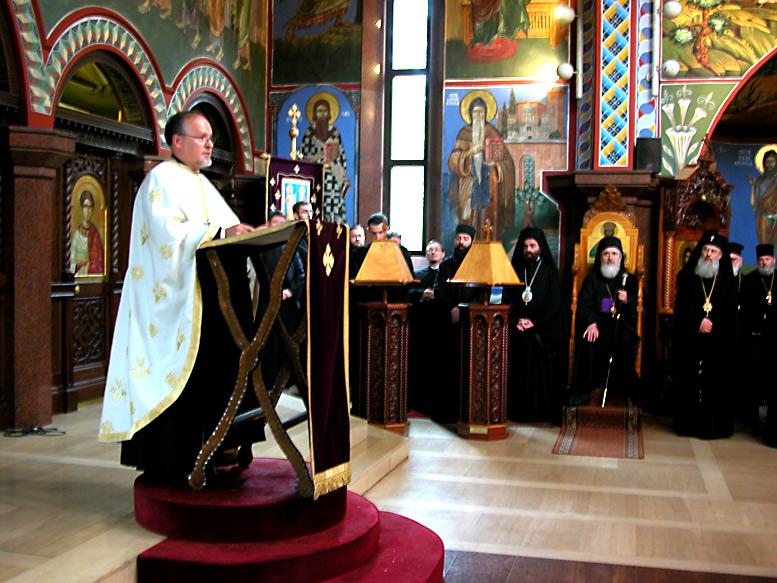 Праздничное богослужение. Фото Представительства РПЦ МП в Германии