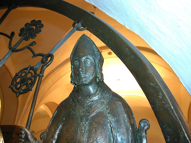 Святитель Альтфрид. Фото Представительства РПЦ МП в Германии