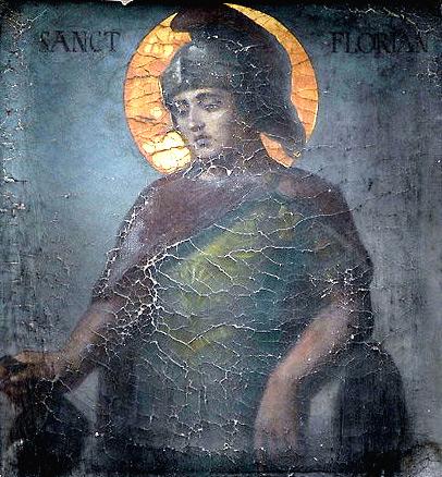Мученик Флориан. Фото Википедии, автор Velopilger