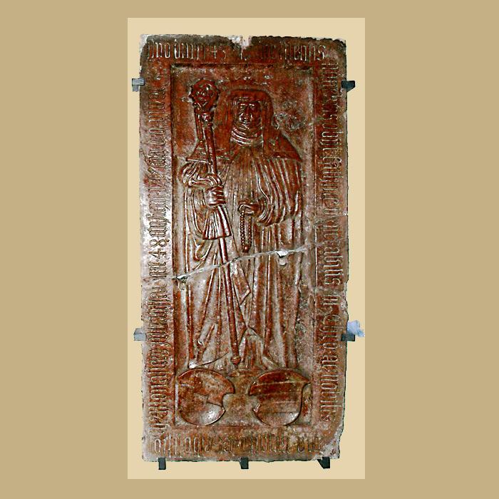 Надгробие в монастырской церкви Нидернбург.  Фото: Википедия, автор Andreas Praefcke