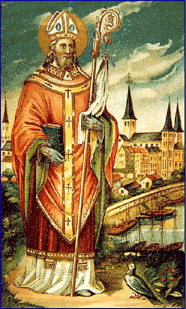 Святитель Куниберт Кельнский. Фото с сайта www.heiligenlexikon.de