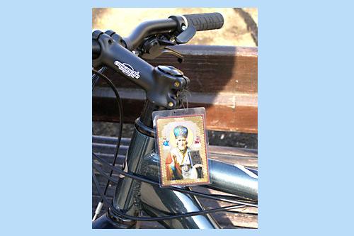 Велосипед Антона Бондаренко. Фото Виктора Тачинского.